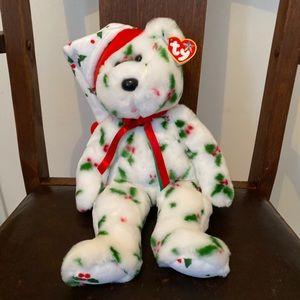 Ty beanie buddy 1998 holiday bear